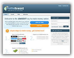 Profile Rewards:Welcome to the EASIEST way to make money online, Make $$$ from your social profiles